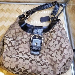 Coach brown hobo Purse